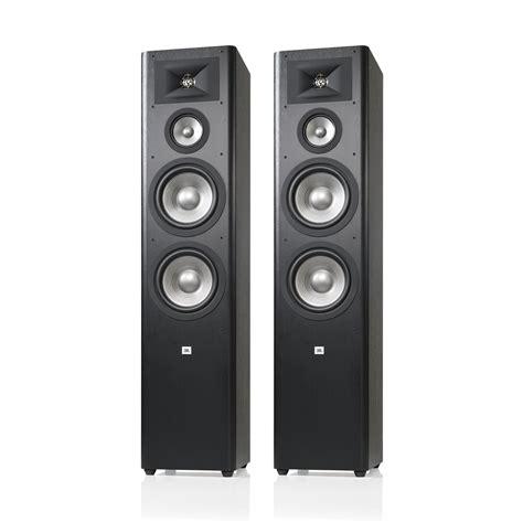 Speaker Jbl Studio jbl studio 290 3 way floorstanding speaker pair black