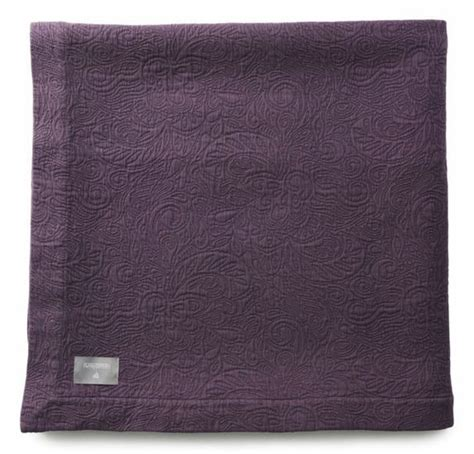 purple matelasse coverlet aubergine purple textured cotton matelasse coverlets