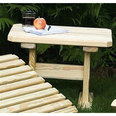 treated pine outdoor furniture pine outdoor end table