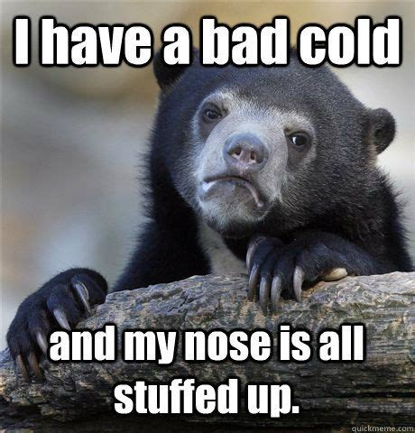 Have A Cold Meme - we have a bad cold quotes pinterest