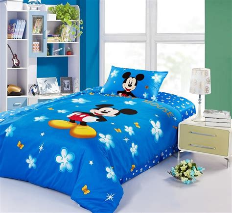 Childrens Comforter Sets Size by Mickey Mouse Size Bedding 100 Cotton Boys Duvet Cover Sets For Bedding Sets