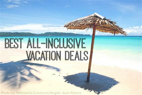 All Inclusive Vacation Packages Finding The Best All Inclusive Vacation Deals Trekaroo
