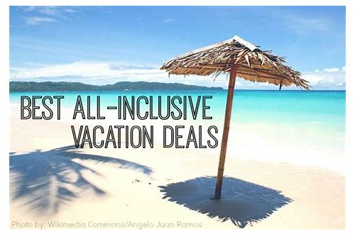 best deals for all inclusive vacations in mexico