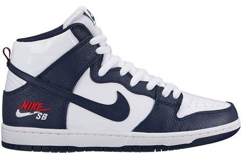 Nike Dunk High white mens nike sb dunk high
