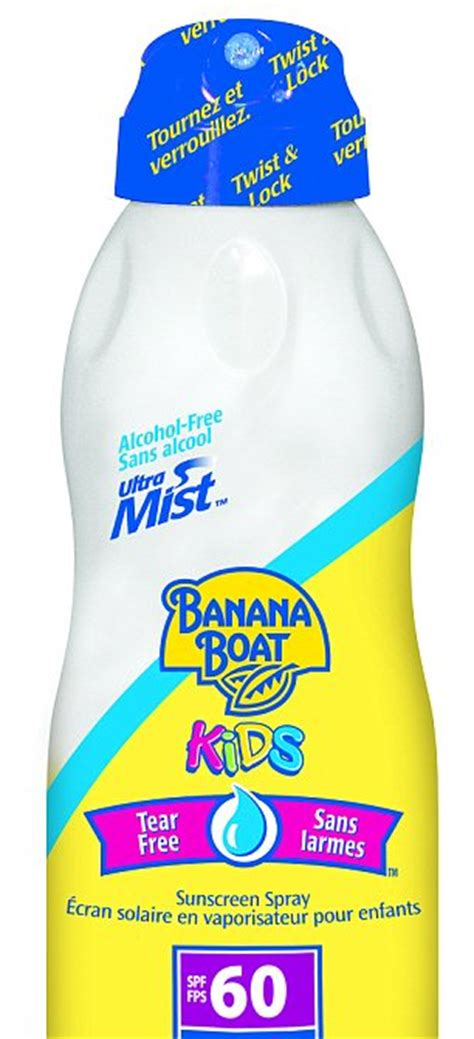 banana boat sunscreen article banana boat recall sunscreen products pulled amid