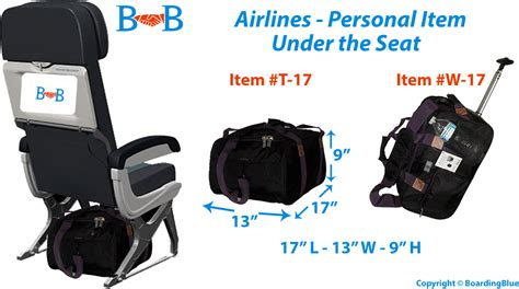 spirit airlines personal item backpack airlines personal item under seat