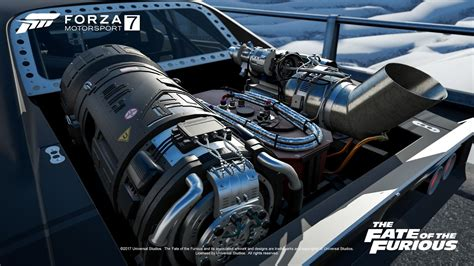 fast and furious 8 ceo film forza motorsport 7 welcomes the fate of the furious car