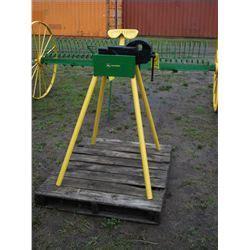 john deere bench 6 quot bench vice on john deere stand