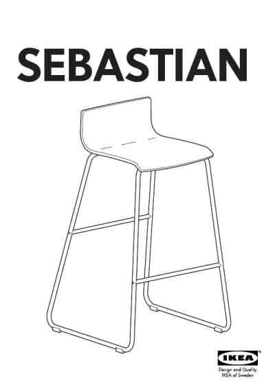 sebastian bar stool ikea sebastian bar stool 25 quot furniture download user guide