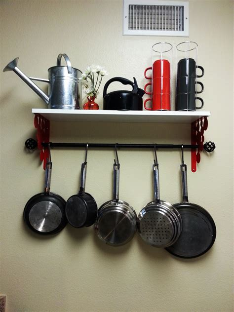 Pot Rack Ikea ikea pot rack hack ikea hackers ikea hackers