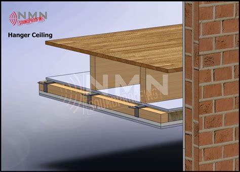 ceiling joist hangers hangers system nmn soundproofing