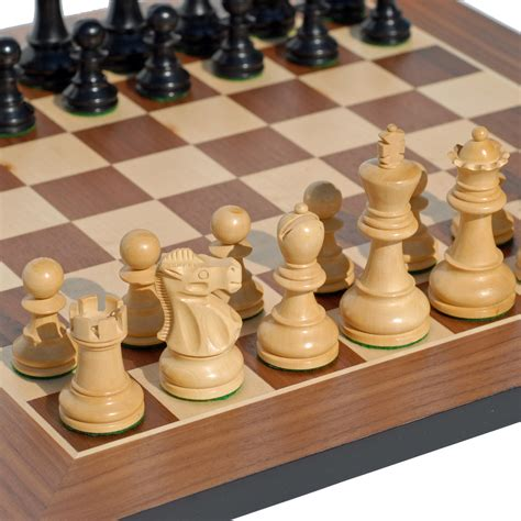 staunton chess pieces staunton chess set weighted pieces black stained