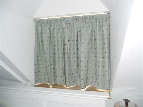 Dormer Window Curtain Rods Cottage Style Windows Gallery Just Fabrics