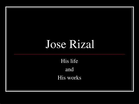 powerpoint themes jose rizal ppt jose rizal powerpoint presentation id 1702726