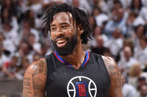 deandre jordan hair bucks reportedly interested in deandre jordan