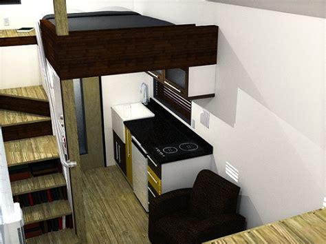 the mcg tiny house with staircase loft photos video and plans the mcg loft tiny house joy studio design gallery best