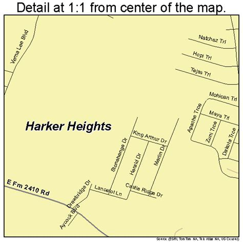 where is harker heights texas on a map harker heights texas map 4832312