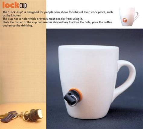 Lockup Cup For The Office lockcup anti theft coffee cup gadgetify