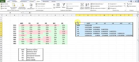 calculating covariance matrix using excel youtube