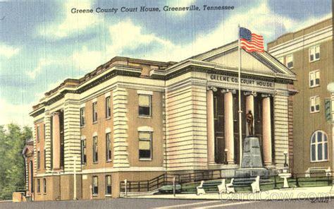 Greene County Tn Court Records Greene County Court House Greeneville Tn