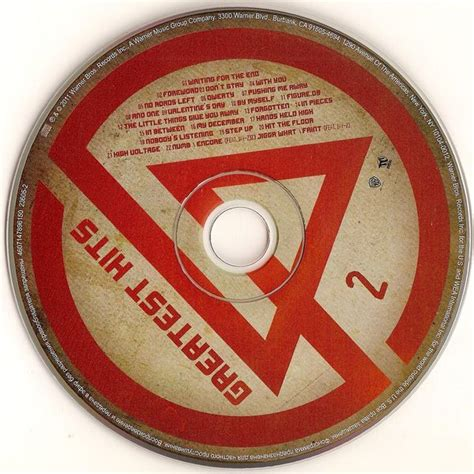 Harga Termurah Cd Linkin Park Greatest Hits 2 Cd Original greatest hits cd2 linkin park mp3 buy tracklist