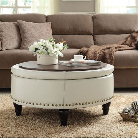 oversized leather ottoman coffee table furniture oversized ottoman coffee table for stylish