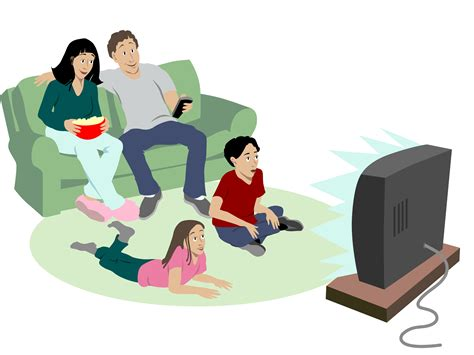 Family Tv Clipart pictures of tv cliparts co
