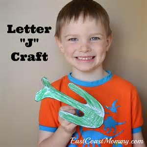 East coast mommy alphabet crafts letter j