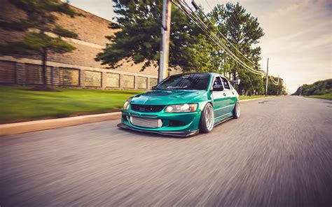 green mitsubishi lancer fast green mitsubishi lancer evo x wallpapers and images
