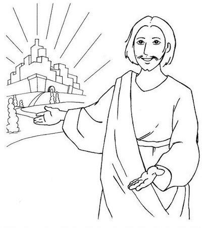 Coloring Pages Of Jesus In Nazareth | jesus of nazareth
