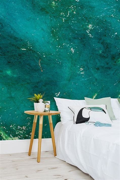 turquoise stone wallpaper best 25 emerald bedroom ideas on pinterest