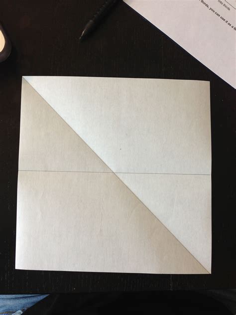How To Fold A Paper Into Thirds - how to fold origami paper into thirds make