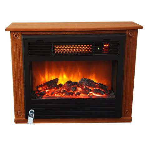 Lifesmart Infrared Fireplace by Lifesmart 1000 Square Foot Infrared Quartz Fireplace