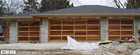 Geis Garage Doors Semi Custom Custom Wood Geis Garage Geis Garage Doors