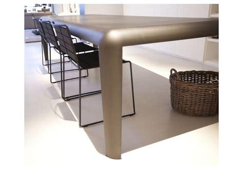 tavolo ferro ferro tavolo rettangolare porro milia shop