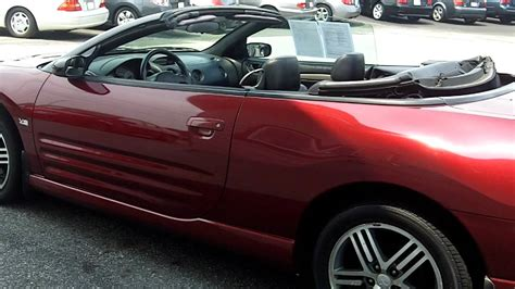 mitsubishi convertible 2003 used 2003 mitsubishi eclipse spyder gts convertible for