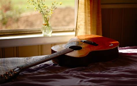 guitar bedroom bedroom in guitar 4k widescreen wallpaper hd wallpapers