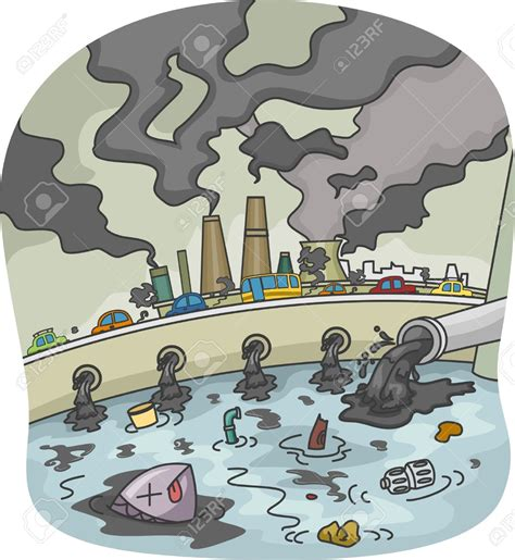 soil pattern coreldraw smog clipart sea pollution pencil and in color smog