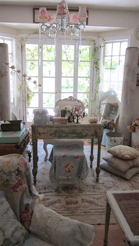 96 Best Shabby Chic Home Office Images On Pinterest Home Shabby Chic Office Decor