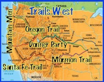 westward expansion: trails west by mr c's history class | tpt