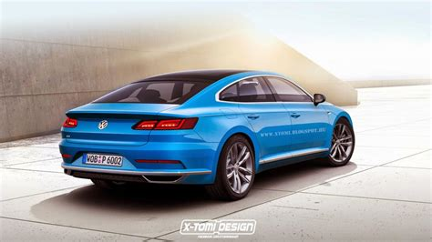 2019 The Next Generation Vw Cc by Next Generation Volkswagen Cc Rendered Motor Exclusive