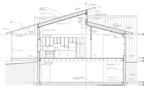 section of a roof new lizer homestead final construction plans