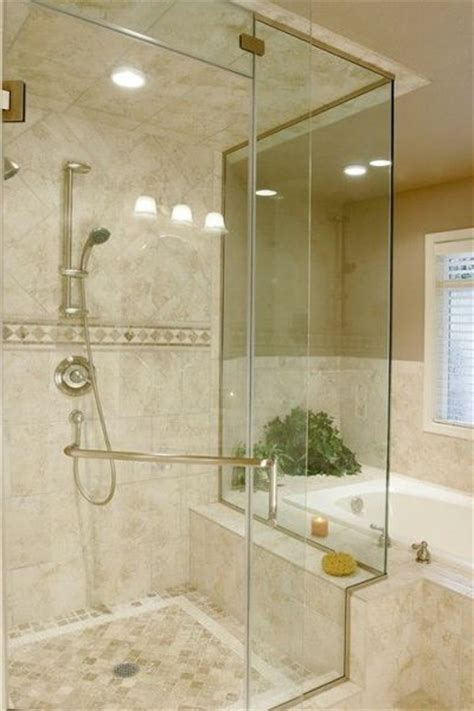 When To Shower like this shower next to tub bath ideas juxtapost