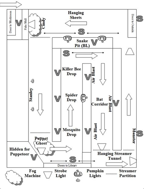 haunted house floor plan turning your library into a haunted house alsc blog