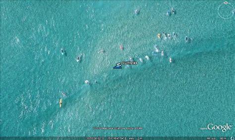 imagenes raras vistas desde google earth surf en australia google maps google earth es