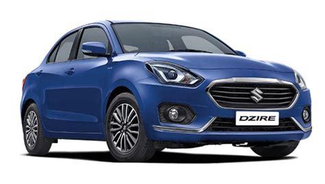 maruti suzuki sedan maruti suzuki dzire compact sedan launched in india