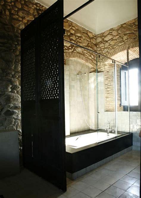 desain kamar mandi batu alam gambar rumah idaman