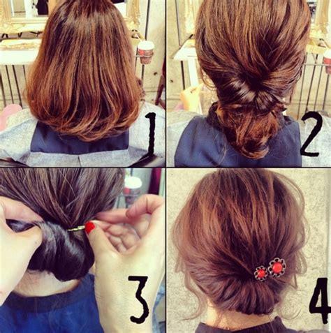 tuto coiffure simple les meilleurs tutoriels faciles et