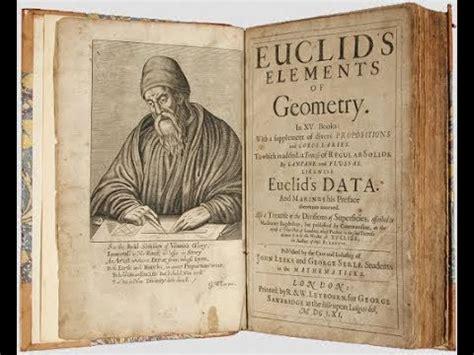 libro the son los elementos libro de euclides youtube