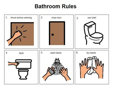 bathroom routine visuals 17 best images about boardmaker on pinterest groundhog